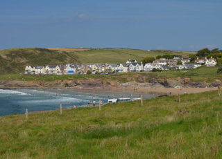 Polzeath from Tristram carpark